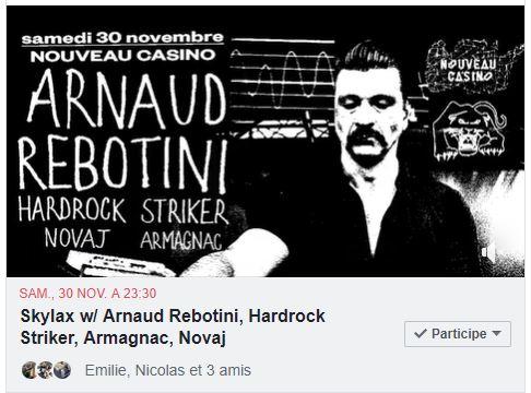 arnaud rebotini rock tour